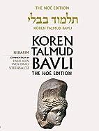 Koren Talmud Bavli Noé, Vol.18:…