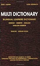 Multi Dictionary Bilingual Learners…