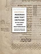 Masorah and Text Criticism in the Early…