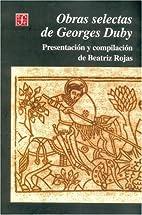 Obras selectas de Georges Duby (Spanish…
