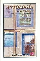 Antología (Spanish Edition) by Severo…