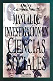 Raymond Quivy: Manual: de  investigacion en ciencias sociales/ Handbook of Research in Social Sciences (Spanish Edition)