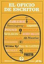 El Oficio de Escritor by Varios