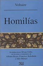 Homélies prononcées à Londres en 1765.…