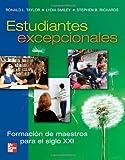 Taylor, Ronald: Estudiantes excepcionales (Spanish Edition)