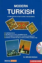 Modern Turkish: A Complete Self-study Course…