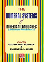The Numeral Systems of Nigerian Languages by…