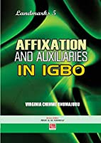Affixation and Auxiliaries in Igbo by…