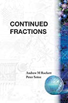 Continued Fractions by Andrew Mansfield…