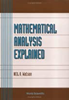 Mathematical Analysis Explained (Advanced…