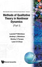Methods of Qualitative Theory in Nonlinear…