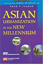 Asian Urbanization In The New Millennium