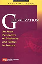 Globalization: An Asian Perspective On…