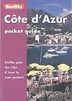 Berlitz Pocket Guide Cote d'Azur