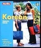 Berlitz Korean Travel Pack (Berlitz Travel…