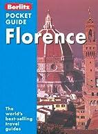 Berlitz Pocket Guide Florence by Berlitz…