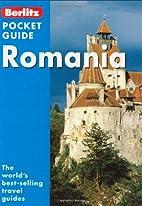 Berlitz Pocket Guide Romania by *