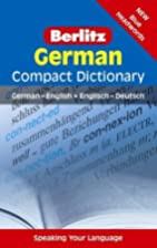 German Compact Dictionary (Berlitz Compact…