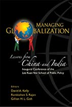 Managing Globalisation: Lessons from China…