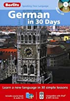 Berlitz German in 30 Days (Berlitz in 30…