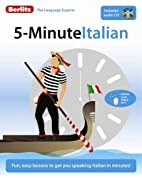 5-Minute Italian by Berlitz