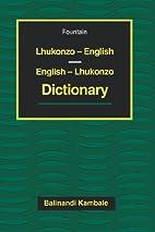 Lhukonzo English - English Lhukonzo…