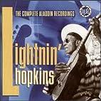 Complete Aladdin Recordings by Lightnin'…