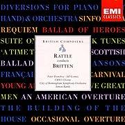 Rattle Conducts Britten by Benjamin Britten