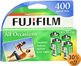 Fujifilm 1014258 Superia X-TRA 400 35mm Film - 4 Pack (Discontinued by Manufacturer)