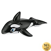 "Intex Whale Ride-On, 76"" X 47"", for Ages 3+"