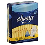 Select Always Maxi Pads, $6.00