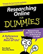 Researching Online for Dummies (with CD-ROM)…