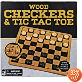 Cardinal Solid Wood Checkers