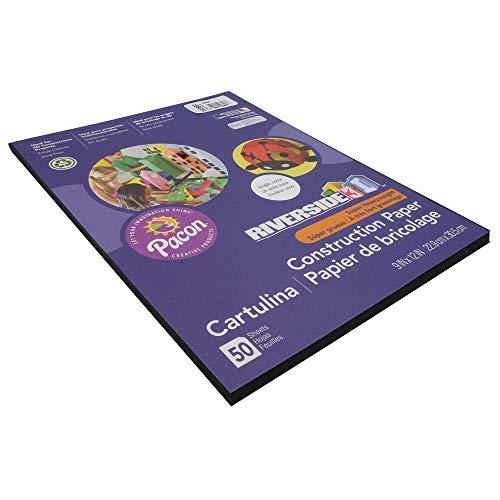 pacon-pac103607-riverside-3d-construction-paper-9-x-12-black-50-sheets
