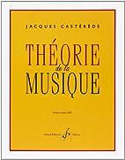 Theorie de la musique by Casterede