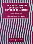 The Boosey & Hawkes 20th-Century Easy Song…
