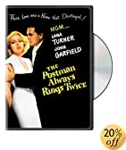 The Postman Always Rings Twice: Lana Turner, John Garfield, Cecil Kellaway, Hume Cronyn, Leon Ames, Audrey Totter, Alan Reed, Jeff York, Philip Ahlm, John Alban, Morris Ankrum, King Baggot, David Heel