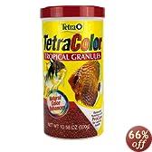 Tetra 16262 TetraColor Tropical Granules, 10.58-Ounce, 1-Liter