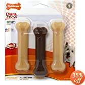 Nylabone Dura Chew Regular Bone Dog Chew Toy Value Pack
