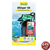 Tetra 25816 Whisper In-Tank Filter with BioScrubber, 3 to 10-Gallon