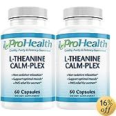 L-Theanine Calm-Plex with GABA and 5-HTP (Suntheanine®) (100 mg, 60 medium capsules)