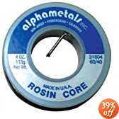 American Terminal AT-31604 60-40 Rosin Core Solder (4 Ounces)