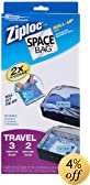 ITW Space Bag BRS-9322ZG Travel Roll Bags: 5 Pack - 3 Carry-On and 2 Suitcase Size Bags