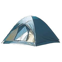 軽量・コンパクトに収納できるドーム型テント