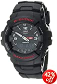 "Casio Men's G100-1BV ""G-Shock"" Watch in Black Resin"