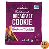 39;s Breakfast Cookies, Oatmeal Raisin, 3-Ounce Individually Wrapped Cookies (Pack of 12): Amazon.com