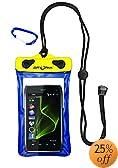 DRY PAK DP-46 Cell Phone, GPS, MP3 Waterproof Case, Blue