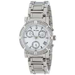 Bulova Women's Diamond Chronograph Watch #96R19
