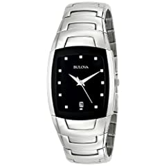 Bulova Men's Stainless Steel Watch #96G46
