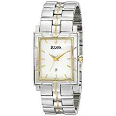Bulova Men's Two-Tone Watch #98H16